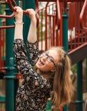 Adolescente en el parque -3 Imagen de archivo