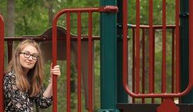 Adolescente en el parque -4 Foto de archivo