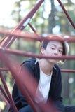 Adolescente en el parque Imagenes de archivo