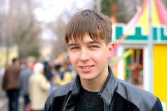 Adolescente en la calle Fotografía de archivo