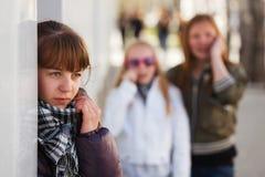 Adolescente en la depresión Imágenes de archivo libres de regalías