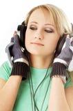 Adolescente en los auriculares #2 Imagenes de archivo