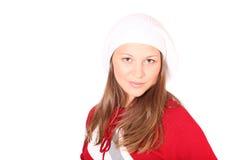 Adolescente en ropa del invierno Foto de archivo
