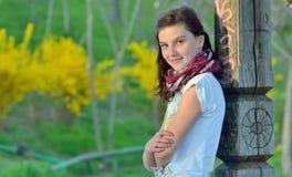 Adolescente en tiempo de primavera Foto de archivo libre de regalías