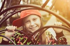 Adolescente en un día de verano en naturaleza Imagenes de archivo