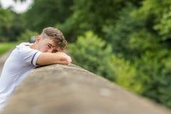 Adolescente en un día del ` s del verano Fotografía de archivo libre de regalías