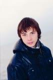 Adolescente en una chaqueta Imagen de archivo libre de regalías