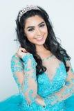 Adolescente en vestido del baile de fin de curso Imágenes de archivo libres de regalías
