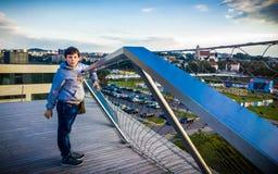 Adolescente en Vilna Fotos de archivo
