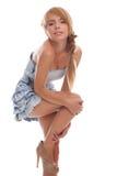 Adolescente encantador del retrato brillante Foto de archivo libre de regalías