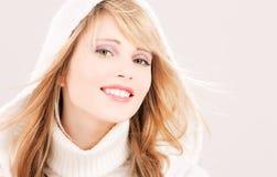 Adolescente encantador en hoodie Fotografía de archivo libre de regalías