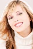 Adolescente encantador en hoodie Foto de archivo libre de regalías