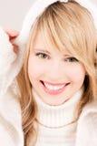 Adolescente encantador en hoodie Fotos de archivo libres de regalías