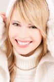 Adolescente encantador en hoodie Fotos de archivo