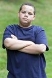 Adolescente enfadado Imagenes de archivo