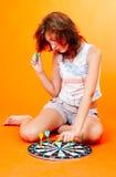 Adolescente ennuyée Photos libres de droits