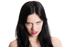 Adolescente enojado. Imagen de archivo libre de regalías