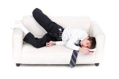 Adolescente faticoso Fotografie Stock