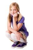 Adolescente felice Immagine Stock