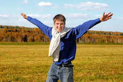 Adolescente felice Fotografia Stock