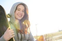 Adolescente felice Immagini Stock Libere da Diritti