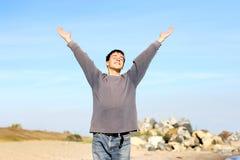 Adolescente feliz Imágenes de archivo libres de regalías