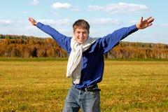 Adolescente feliz Fotografía de archivo