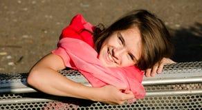 Adolescente feliz foto de archivo libre de regalías