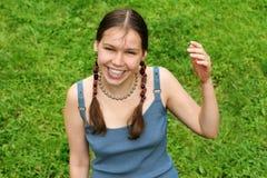 Adolescente feliz fotografía de archivo libre de regalías