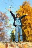 Adolescente feliz Imagen de archivo