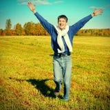 Adolescente feliz al aire libre Fotografía de archivo