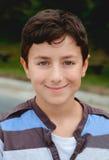 Adolescente feliz con doce años Fotos de archivo libres de regalías