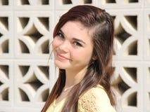 Adolescente feliz confiado Foto de archivo libre de regalías