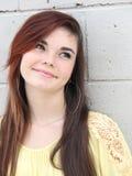 Adolescente feliz confiado Fotos de archivo