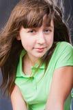 Adolescente feliz de la muchacha Imagen de archivo libre de regalías