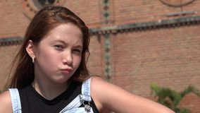 Adolescente feliz de la muchacha fresca Fotos de archivo libres de regalías