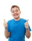 Adolescente feliz del retrato Foto de archivo