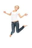 Adolescente feliz y despreocupado Imagen de archivo