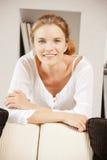 Adolescente feliz y sonriente Fotografía de archivo libre de regalías