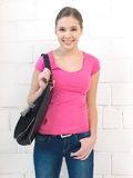 Adolescente feliz y sonriente Imagen de archivo libre de regalías