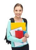 Adolescente feliz y sonriente Imágenes de archivo libres de regalías