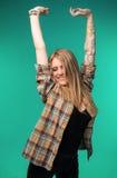 Adolescente feliz y sonriente Imagen de archivo