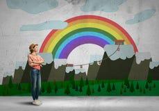 Adolescente femenino Imagen de archivo libre de regalías