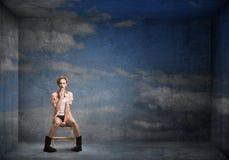 Adolescente femenino Fotografía de archivo libre de regalías