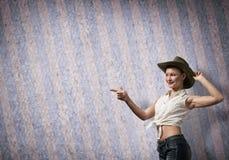 Adolescente femenino Fotografía de archivo