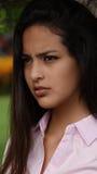 Adolescente femenino bonito Fotos de archivo