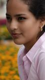 Adolescente femenino bonito Foto de archivo