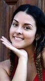 Adolescente femenino bonito Imagen de archivo libre de regalías