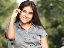 Adolescente femenino confiado Fotografía de archivo