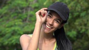 Adolescente femenino deportivo Fotos de archivo